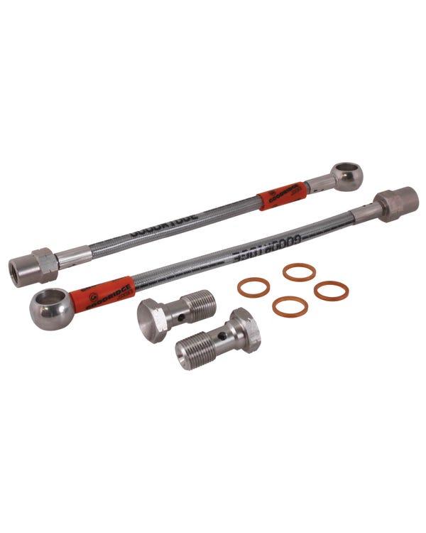 Goodridge Stainless Steel Braided Brake Hose Kit for Rear Rotors