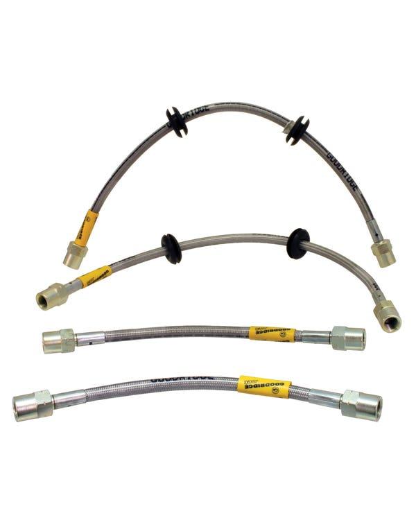 Goodridge Stainless Steel Brake Hose Kit for Drum Brake Brakes