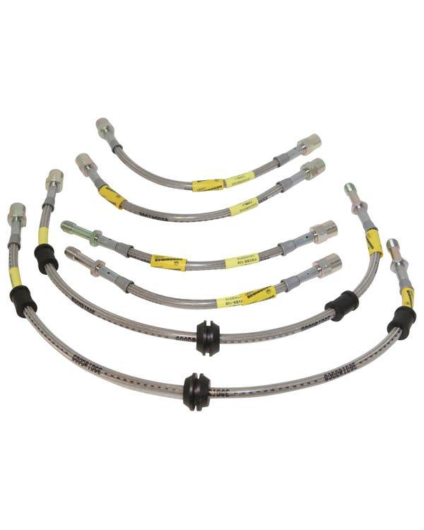 Goodridge Stainless Steel Braided Brake Hose Kit T32