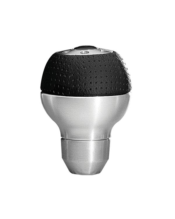 MOMO Air Leather and Aluminum Gear Knob