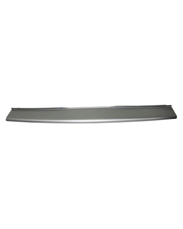 Rear Bumper Step Protector Brushed Aluminium Look