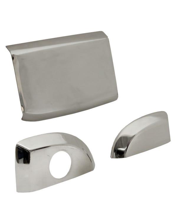 Cubierta de manilla de puerta exterior en acero inoxidable para portón trasero