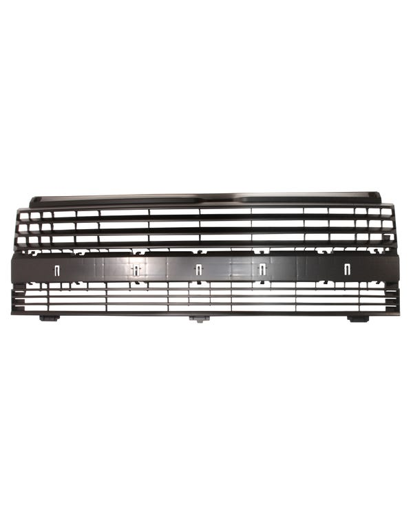 De-badged Short Nose Front Grille Satin Black