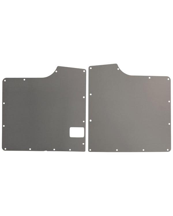 Interior Trim Panel Kit Grey Plastic for Barn Door Model