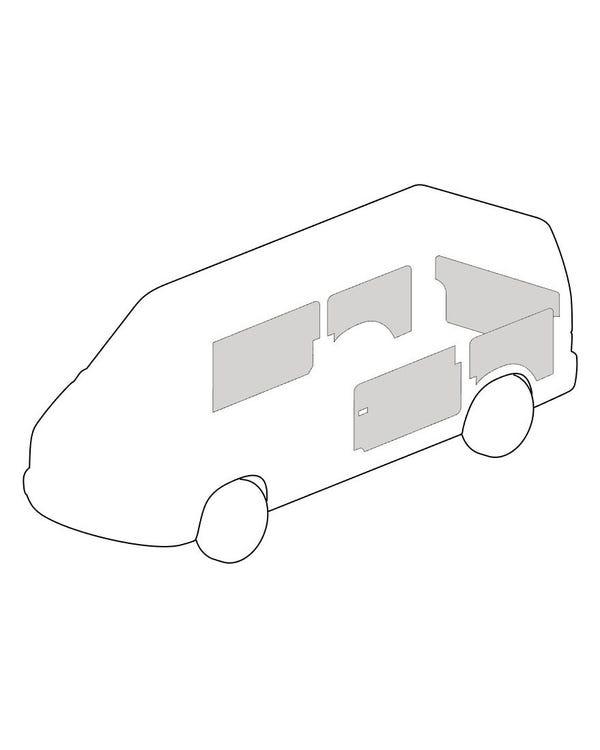 Interior Trim Kit Left Hand Drive Left Sliding Door Short Wheelbase with Tailgate Grey