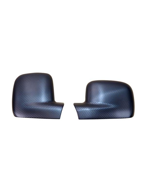 Cubiertas para retrovisor lateral con apariencia de carbono para modelos con el volante a la derecha