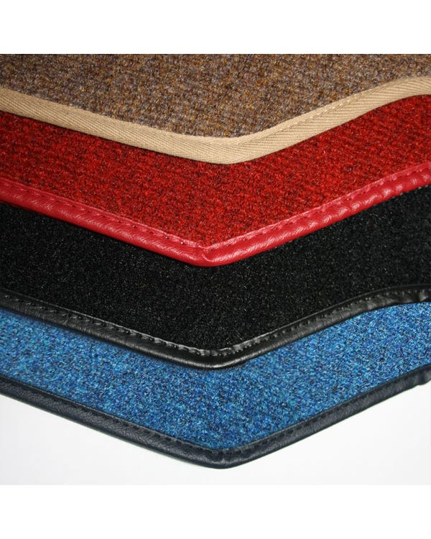 Carpet Mat Set for Right Hand Drive Black Pair