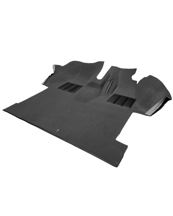 Teppich für den Fahrerkabinenboden, vorgeformt, Rechtslenker, grau