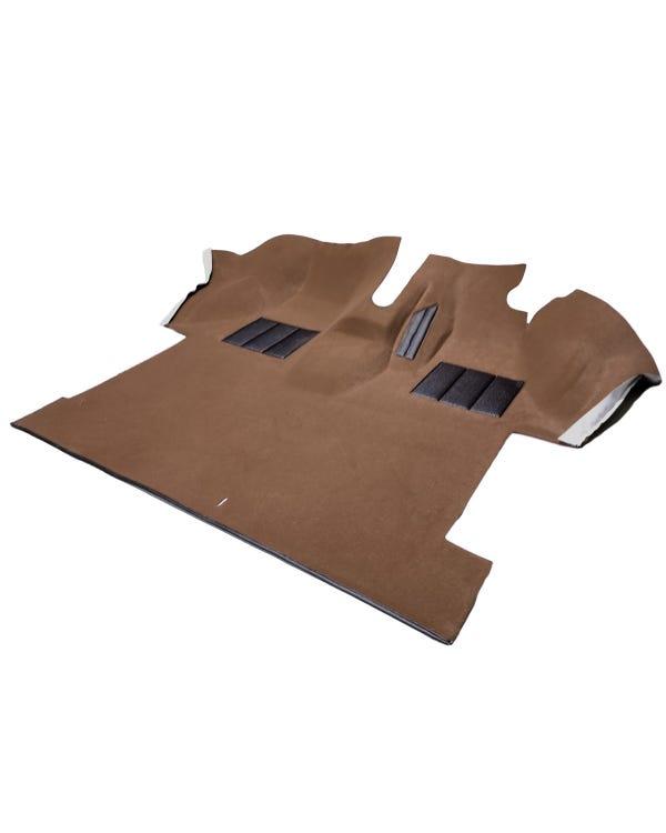 Teppich für den Fahrerkabinenboden, vorgeformt, Rechtslenker, beige
