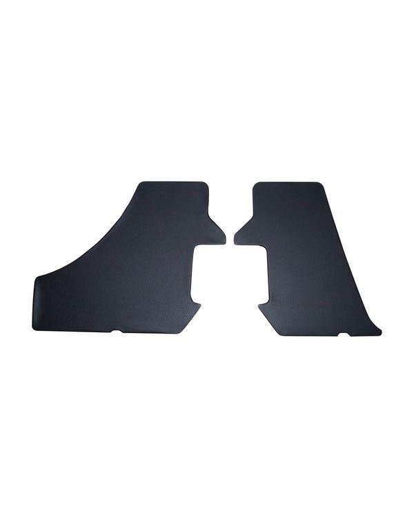 Seitenverkleidungs-Satz, Kofferraum, in schwarzem Vinyl