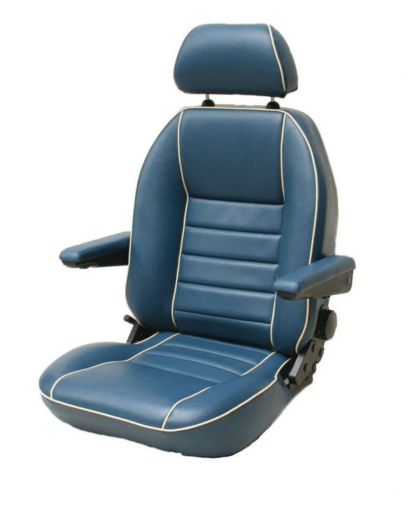 Suffolk Captains Chair for Suffolk Sub Frame in Inca Cloth or Vinyl Right