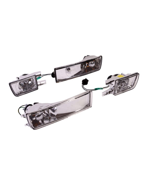 Cystal Clear Front Fog Lights and Indicators
