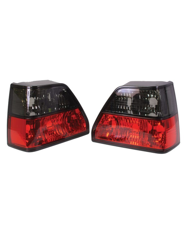 Rear Lights in Red and Smoked Crystal