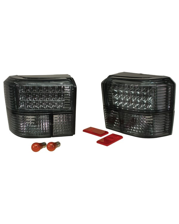 Rear Light Set in Red and Smoked with LEDs