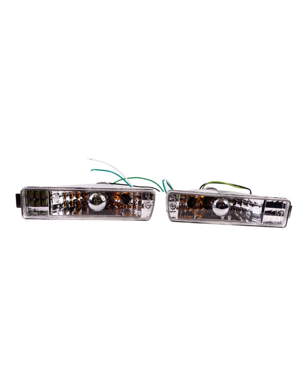 Crystal Clear Turn Signals for Big Bumpers