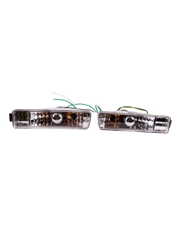 Clear Crystal Indicators for Big Bumper Models Pair