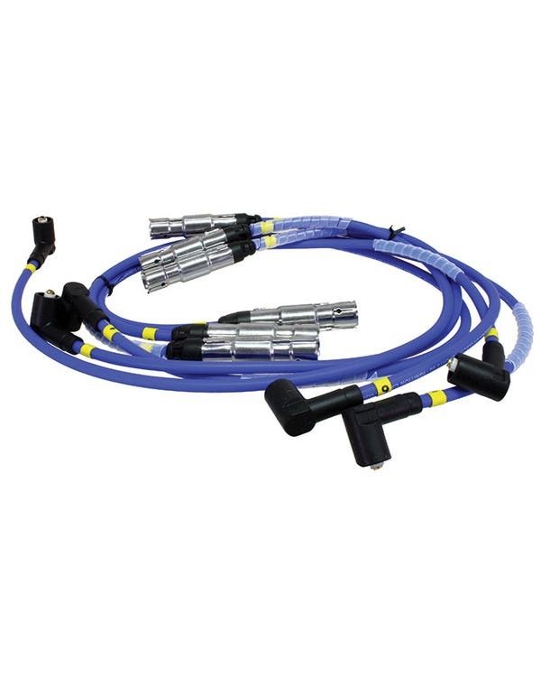 Magnecor Ignition Lead Set VR6 with Distributor 8mm Blue