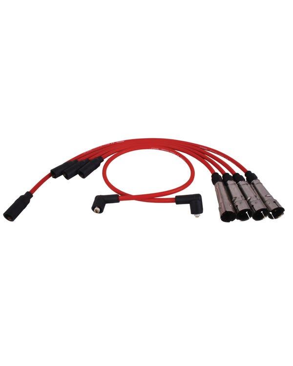 Magnecor Ignition Lead Set 1.6-1.8 8V 8.5mm Red