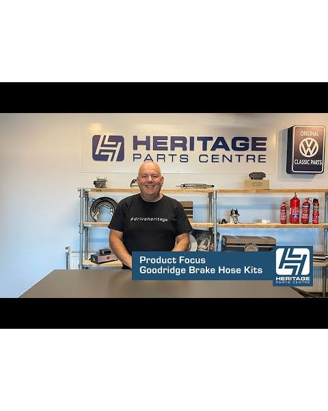 Goodridge Stainless Steel Braided Brake Line Kit