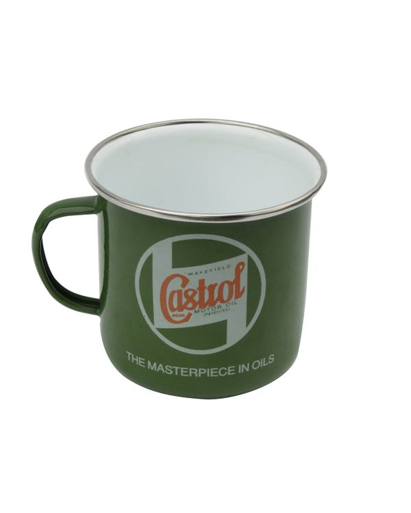 Kaffeebecher ''Castrol Classic'' Emaille