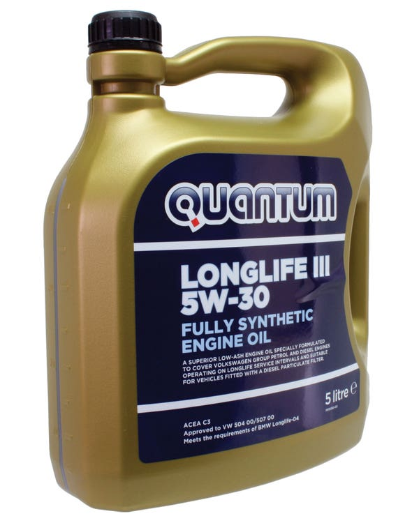 Aceite de motor Quantum Long Life 3, de 5 litros