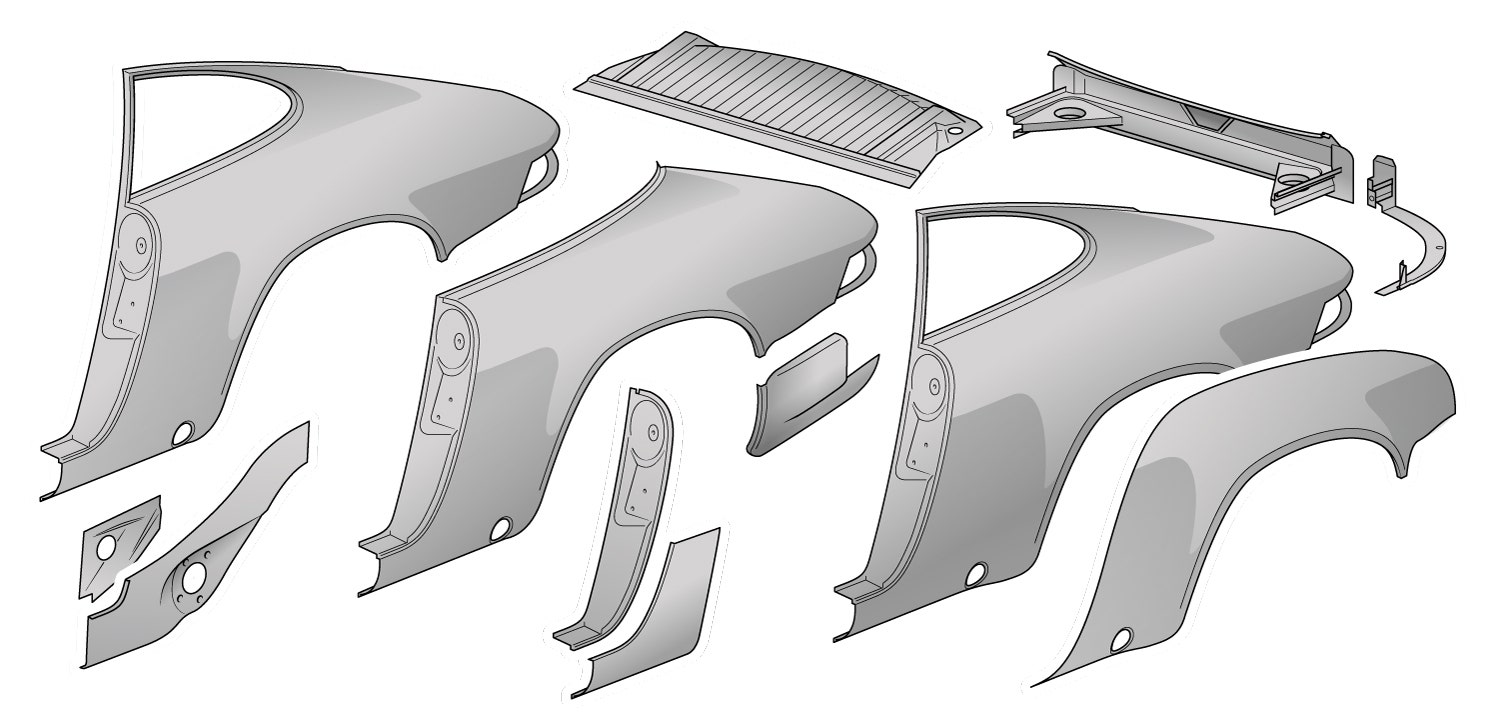 Rear Body Panels