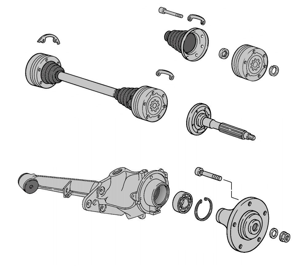 Axles, Driveshafts & Cv Joints