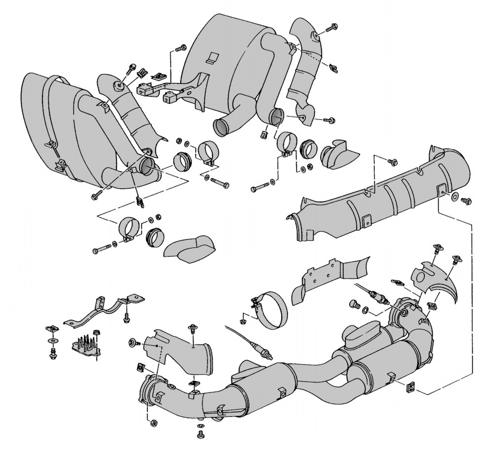 Exhaust Sections
