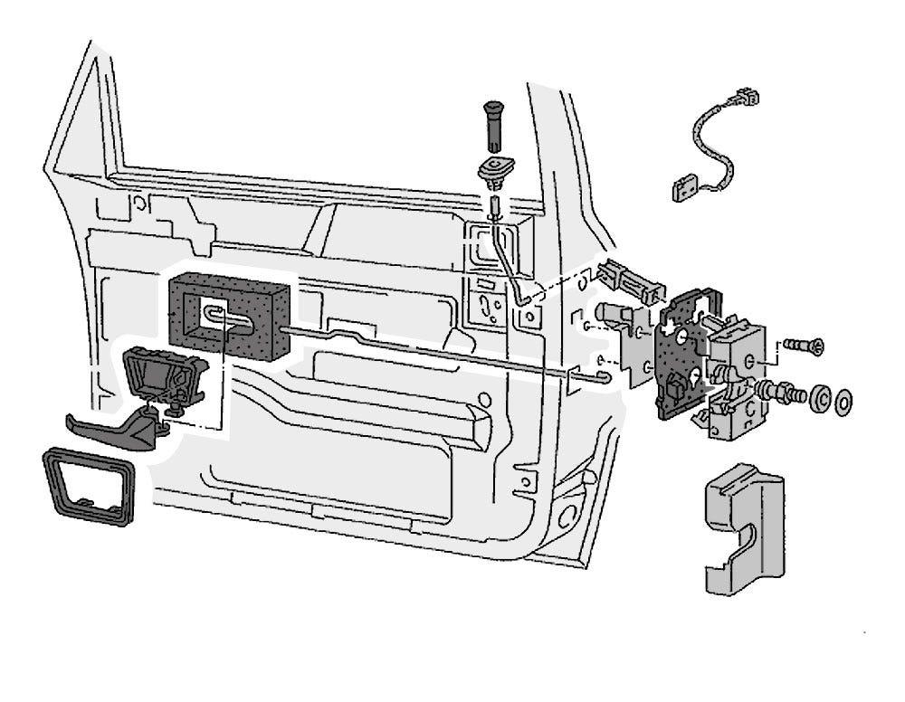 Türenteile, Schlösser & Verriegelungen