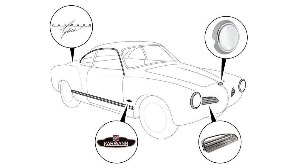 Beetle, Panels, Front Body