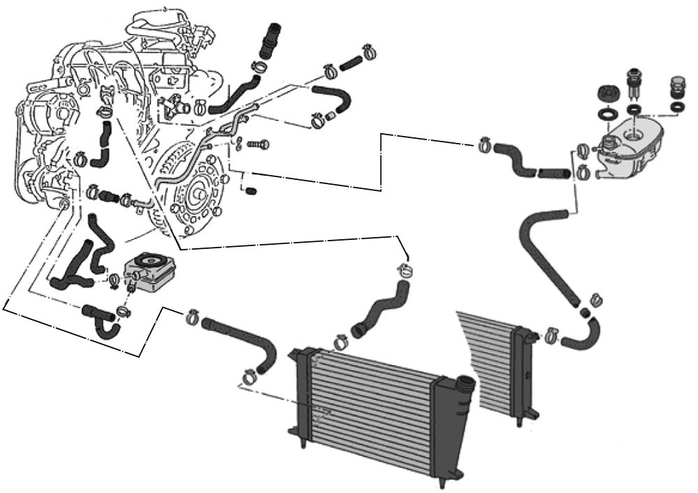 Coolant Hoses & Pipes