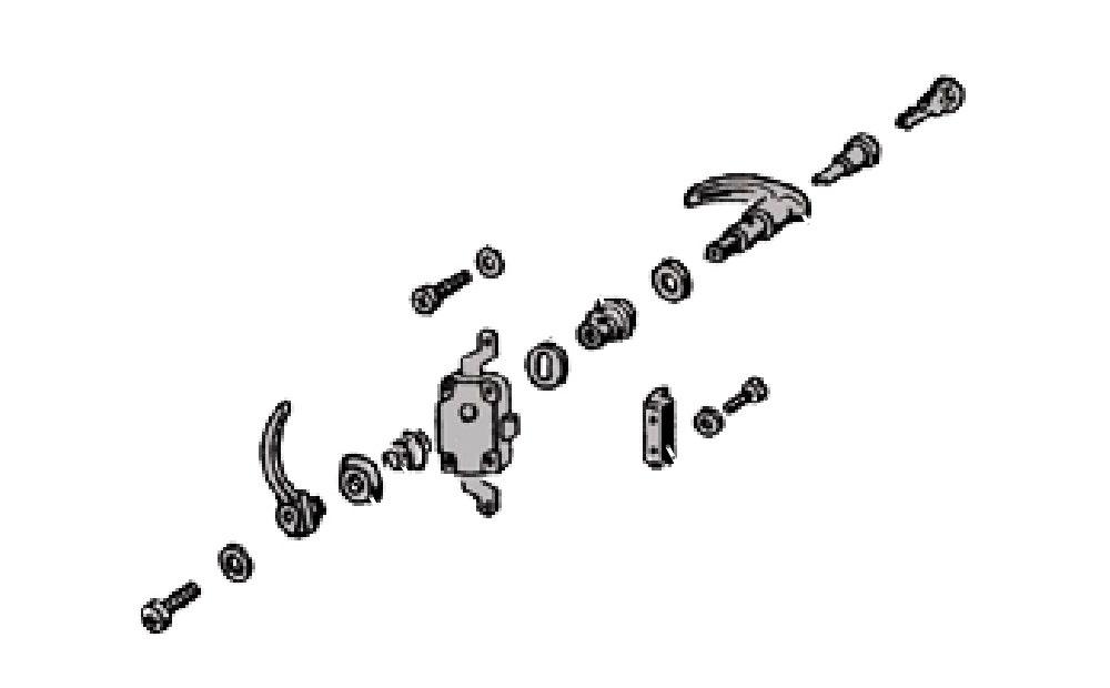 Piezas para puertas,bombines y cerrraduras
