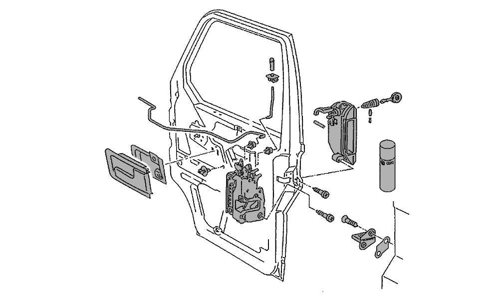Door Parts, Locks & Latches