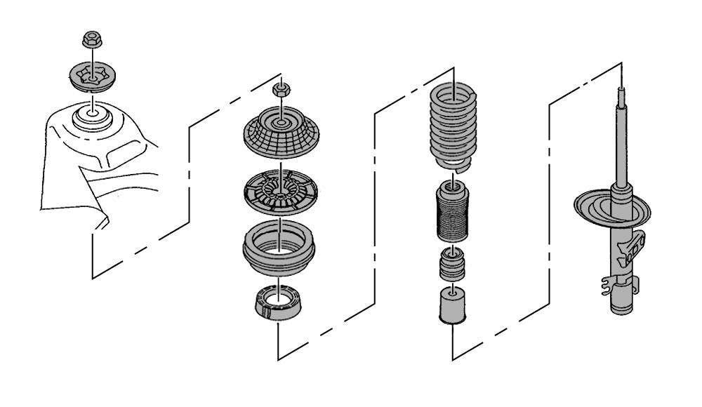 Torreta suspension
