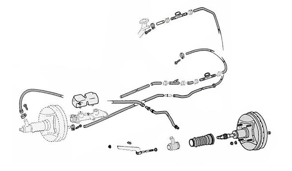 Sistema de freno hidraulico