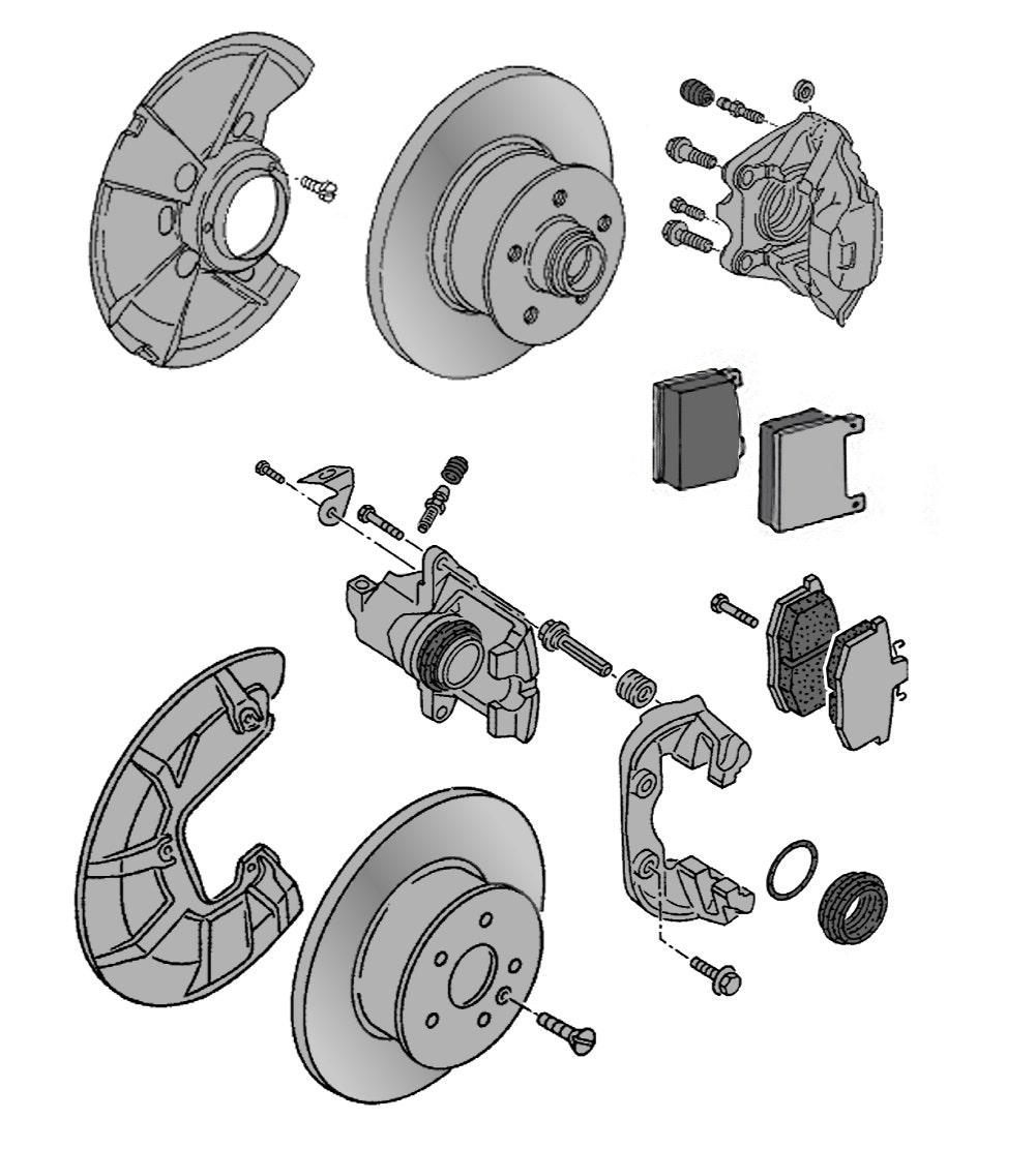 Scheiben & Bremssättel