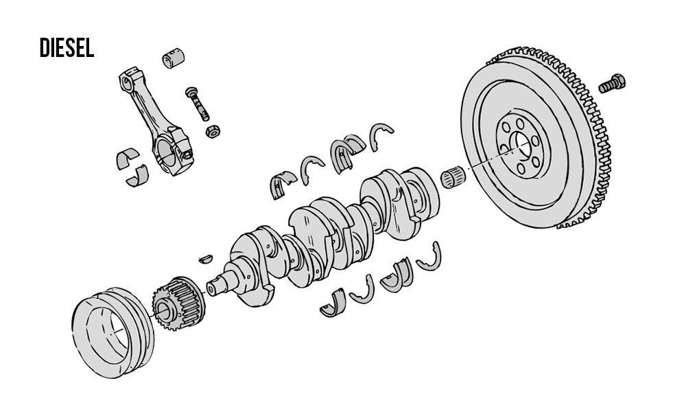 Crank & Rods