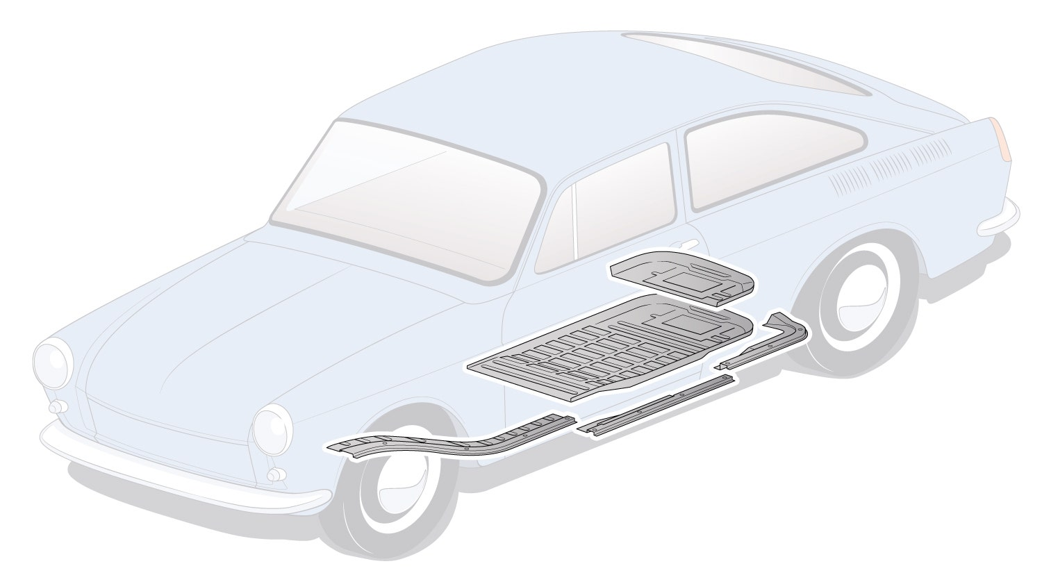 Beetle, Panels, Front Body