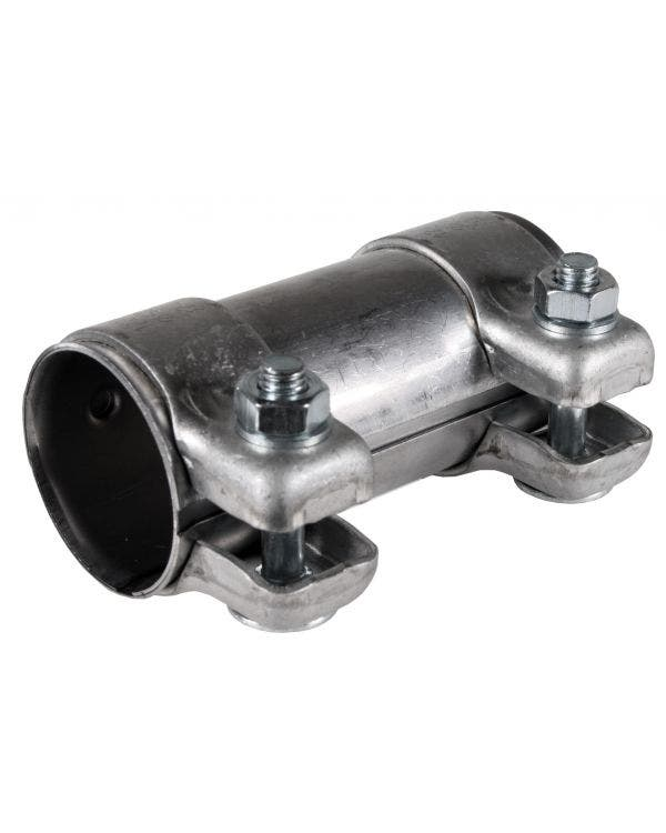 Dual Clip Exhaust Connecting Pipe 50.5/54 x 125mm