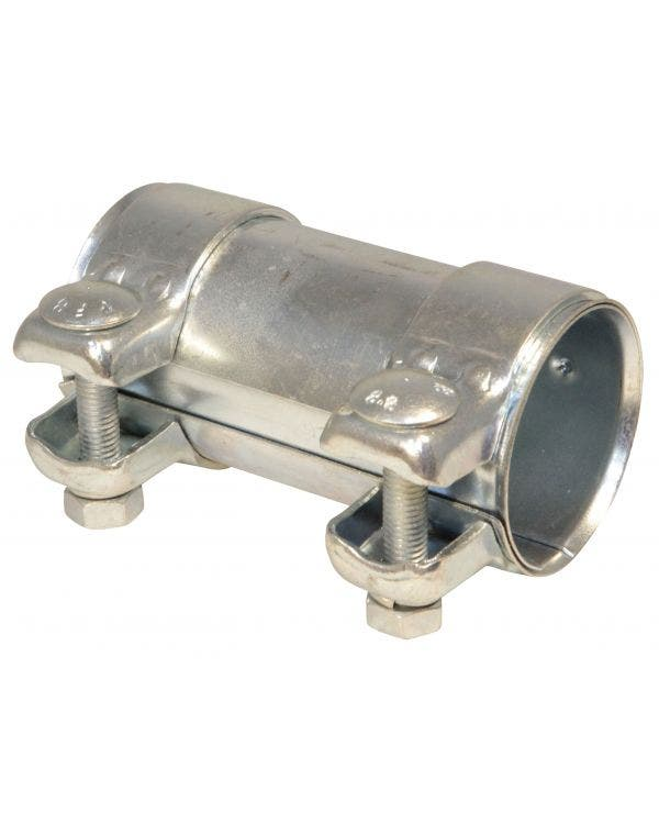 Dual Clip Exhaust Connecting Pipe 55mm