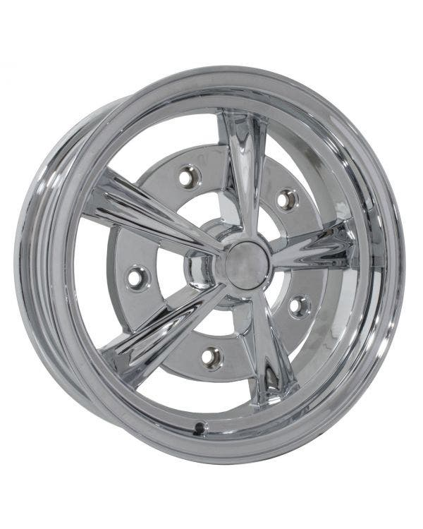 SSP Raider Alloy Wheel Chrome 5Jx15'' with 5x205 Stud Pattern ET20